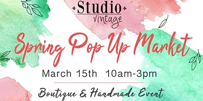 Spring Pop Up Market