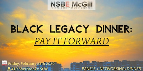 BHM - NSBE Black Legacy Dinner tickets