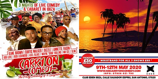CARRY ON COMEDY 2020: Comedy Show 9th May