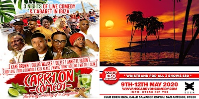 CARRY ON COMEDY 2020: Comedy Show 11th May