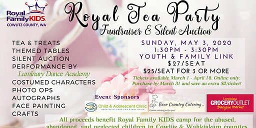 Royal Tea Party - Silent Auction and Fundraiser 2020