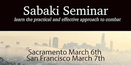 Sabaki Seminar with Mike Ninomiya-San Francisco