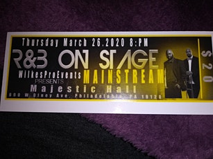 R&B on stage featuring Mainstream tickets