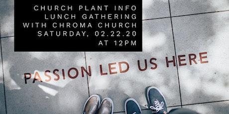 New Multiethnic Church Plant Info Gathering tickets