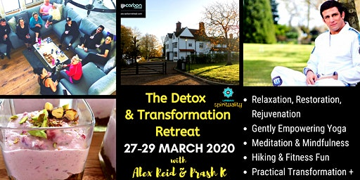 The Detox & Transformation Wellbeing Retreat w/ Alex Reid & Prash K