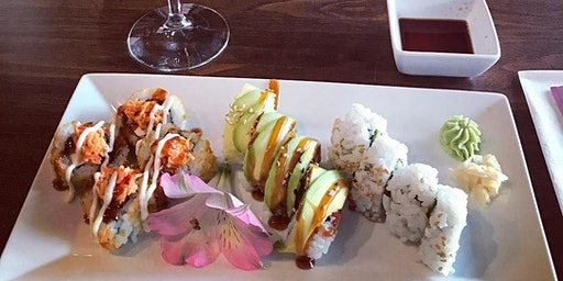 Sushi and Wine Pairing @ Good Vibes Winery
