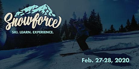 Snowforce 2020 tickets