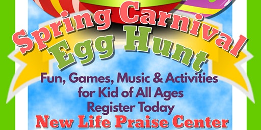 Community Spring Carnival and Egg Hunt