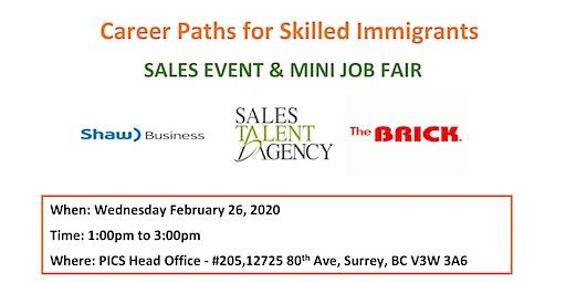 Sales Event & Mini Job Fair
