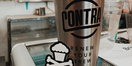 Johnny Cupcakes X Contra Coffee and Tea  tickets