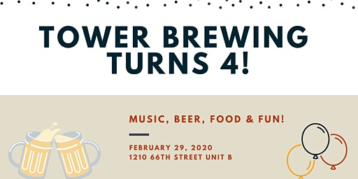 Tower Brewing Anniversary Party!