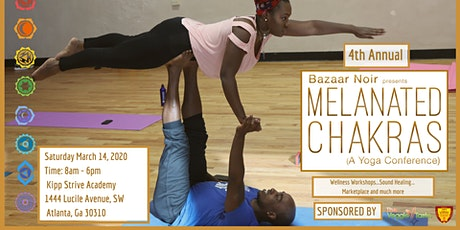Melanated Chakras - 4th Annual  -  Yoga Wellness Conference tickets