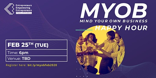 Entrepreneurs Meetup: Mind Your Own Business