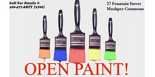 OPEN PAINT STUDIO! Creative Chill Time for YOU! 11:30-1PM (02-19-2020 starts at 11:30 AM)