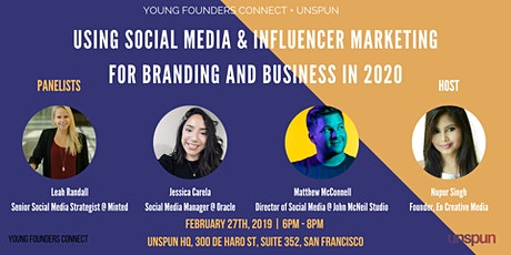 Using Social Media & Influencer Marketing For Branding and Business In 2020 tickets