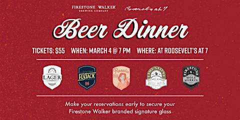 Beer Dinner Featuring Firestone Walker