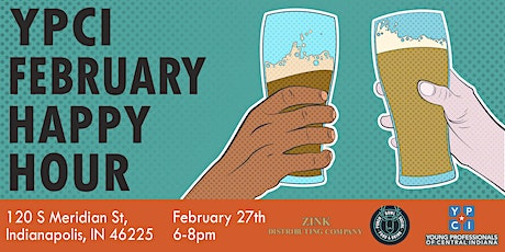 YPCI: February Happy Hour, Punch Bowl Social Pres. by Zink Distributing Co tickets