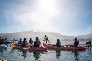 Nature Space: Kayak Mill Valley's Evolving Shoreline