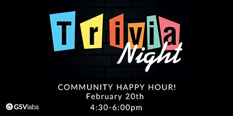 Community Happy Hour | Trivia Night! tickets