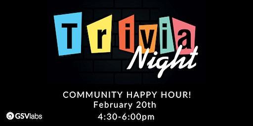 Community Happy Hour | Trivia Night!