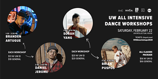 UW All Intensive Dance Workshops