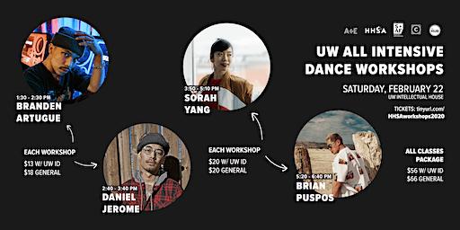 UW All Intensive Dance Workshops