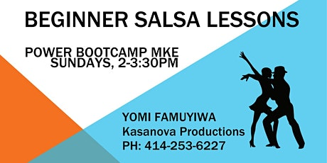 Beginner Salsa Lessons with Yomi tickets