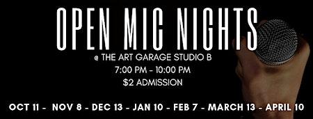 Open Mic Night at the Art Garage