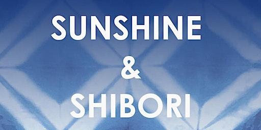 Sunshine and Shibori Indigo Dye Workshop