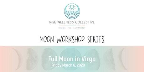 Restorative Yoga + Reiki: Full Moon in Virgo Moon Workshop Series tickets