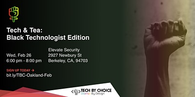Tech & Tea: Black Technologist Edition logo
