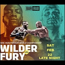 WILDER vs FURY | Pre-Party Hosted By Bar Bar Lagos tickets