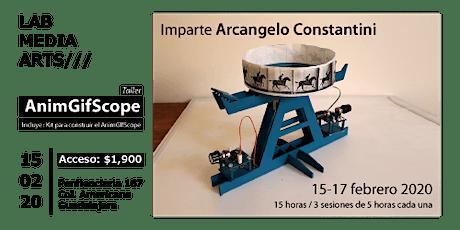 Taller AnimGif Scope con Arcangelo Constantini boletos