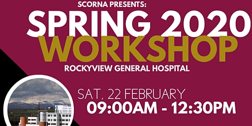SCORNA  Spring Workshop