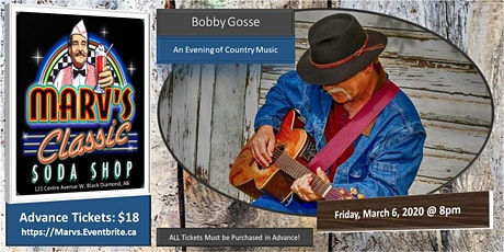 An Evening of Country Music with Bobby Gosse tickets