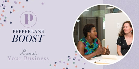 Pepperlane Boost: ONLINE Meeting (Led by Carina Lopez) tickets