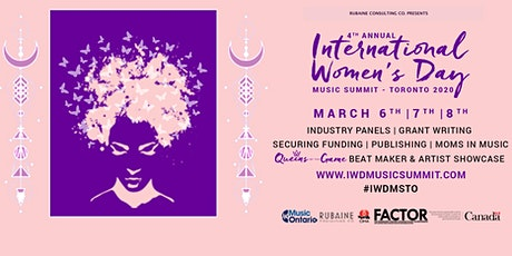 International Women's Day - Music Summit Toronto 2020 #IWDMSTO tickets