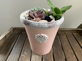 Hearty Leaf's Pints & Pastels Succulent Workshop