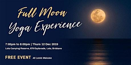 Full Moon Yoga Experience tickets