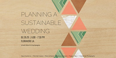 Planning A Sustainable Wedding