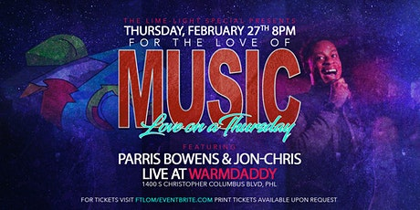 For the Love of Music: Love on A Thursday tickets