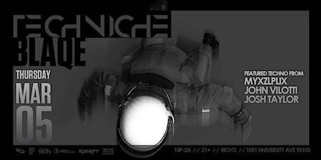 TECHNICHE BLAQUE 03.05.20 tickets