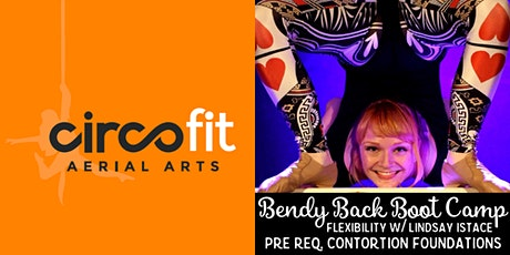BENDY BACK BOOT CAMP - Flexibility Workshop w/ Lindsay Istace tickets