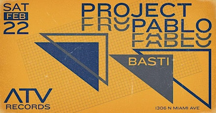 Project Pablo at ATV Records tickets