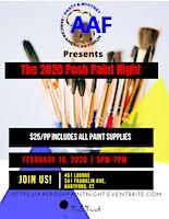 AAF 2020 Black History Month Posh Paint Night