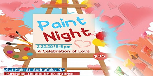 Celebration of Love Paint and Sip Event