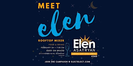 Meet Elen! Rooftop Party with Candidate for County Central Committee. tickets