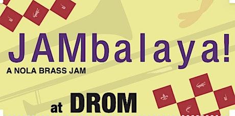 JAMbalaya with Brass Monkeys, Black Tie Brass, Bone Apple Tea tickets