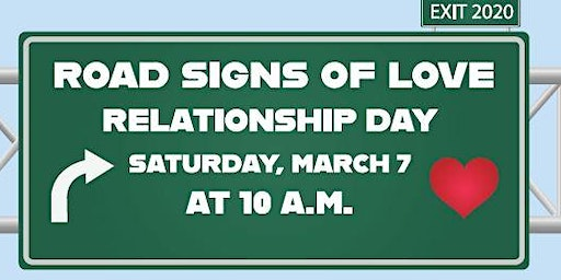 Road Signs of Love - Relationship Day