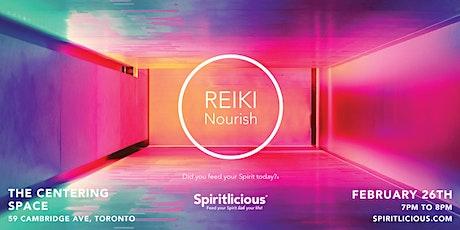 Reiki Nourish tickets